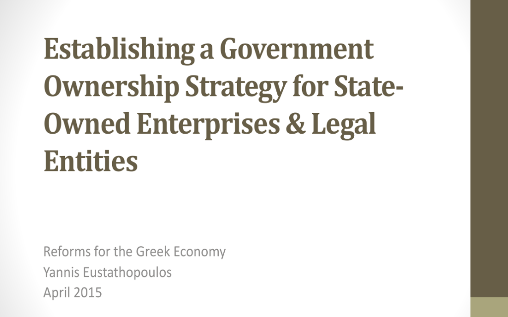 Government Ownership Strategy for SOEs_EN